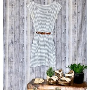 🌩 Classic striped dress with POCKETS